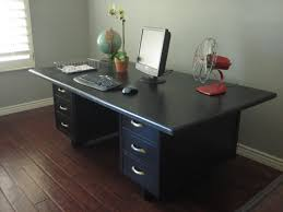 Cool Office Desk by European Paint Finishes Vintage Office Desk
