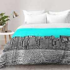 New York City Duvet Cover New York City Comforter Sets Wayfair