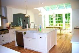 kitchen islands with dishwasher kitchen island sink size island with sink and dishwasher
