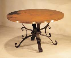 hammered copper dining table hammered copper dining table western passion