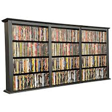 Wall Mounted Dvd Shelves by Venture Horizon Wall Mount Media Cabinets Dvds Cds Or Collectibles
