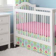 Aqua And Pink Crib Bedding crib bedding sets floral creative ideas of baby cribs