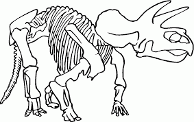 bone coloring page
