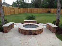 Build Backyard Fire Pit Outdoor Fireplaces And Fire Pits Houston Texas 281 865 5920