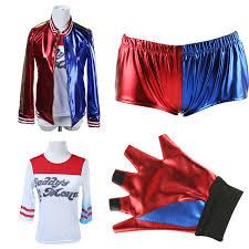 Harley Quinn Halloween Costume Kids Aliexpress Buy Squad Cosplay Harley Quinn Costume
