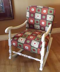 Upholstered Rocking Chairs New Upholstered Rocking Chair Home Design By John