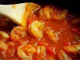 cuisiner crevette crevettes à la sauce créole sauce épicée au cajun le