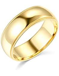 mens gold wedding band mens wedding rings
