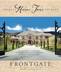frontgate catalog on behance