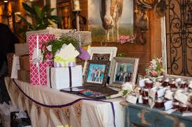 wedding gift table ideas bridal party gift ideas construction2style