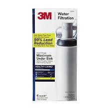 3m under sink water filter shop 3m single stage under sink water filtration system at lowes com