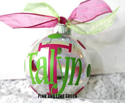 amazon com 1 personalized christmas monogrammed ornaments custom