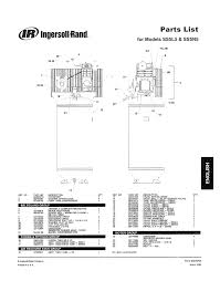 ingersoll rand ss3 parts diagram periodic u0026 diagrams science
