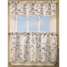 by the sea kitchen curtains by lorraine