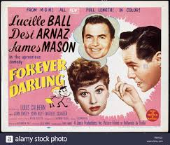 Desi Arnaz And Lucille Ball Lucille Ball U0026 Desi Arnaz Forever Darling 1956 Stock Photo