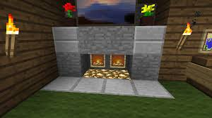 my fireplace kept burning my log cabin down minecraft