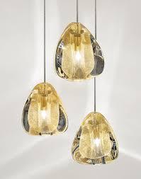 Esszimmer Lampe Gold Mizu Pendelleuchte Aus Kristall By Terzani Design Nicolas Terzani