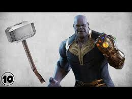 can thanos lift thor s hammer