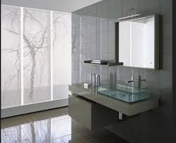 large bathroom mirror contemporary with rectangular vessel sinks
