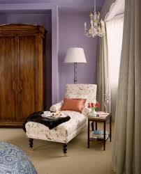 romantic reading nook design with cool cream lounge chair and