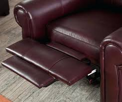 recliner wingback leather recliner chair gripping power