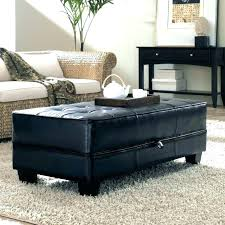 Leather Ottoman Cocktail Table Leather Ottoman Coffee Table Forrestgump Info