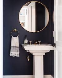 paint bathroom ideas benjamin moore hale navy paint color ideas interiors by color