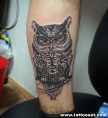 52 owl tattoos collection for men