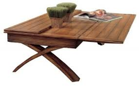 Expandable Coffee Table Pull Out The Expandable Coffee Table When You Re Ready To Cater To