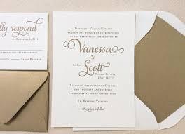 formal wedding invitations the garden suite classic letterpress wedding invitation
