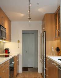 what is the best lighting for a galley kitchen kitchen galley kitchen ideas in lighting modern galley