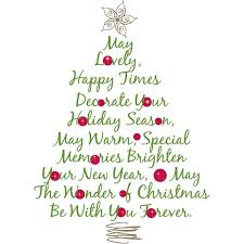 giant christmas tree quote wall stickers christmas decorations