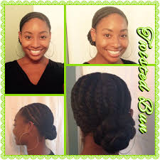 how to style xpressions hair twisted bun with xpression hair natural protective hairstyle