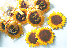 sunflower wedding favors sunflower wedding favors the wedding specialiststhe wedding