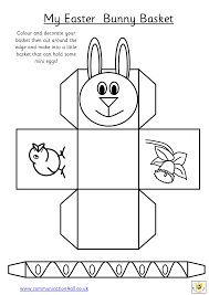 easter bunny baskets click on the links so you can print out the templates www