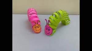 How To Make A Paper Worm - how to make a paper worm i paper toys for