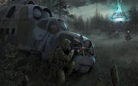 halloween post apocalyptic background stalker wallpaper wallpapers browse