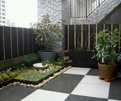 modern small home garden design with tips painting house ideas