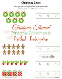 christmas themed worksheets free printables the happy housewife