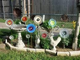 easy to make dish flowers flea market gardening