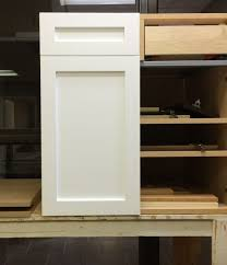 Base Cabinet Doors A Shaker Style Cabinet Door Retrofit To An Akurum 30 Base Cabinet