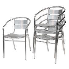 Aluminium Bistro Chairs Chairs U2013 Inspire Hire