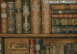 bookcase wallpapers and borders to buy online