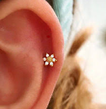 earring that connects to cartilage cartilage earring ebay