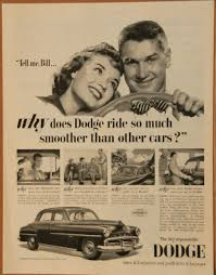 car ads in magazines why does dodge ride so much smoother than other cars