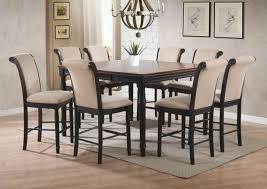 Coaster Cabrillo Piece Counter Height Dining Set In Black Amaretto - Counter height dining table in black