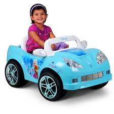 disney frozen convertible car 6 volt battery powered ride on