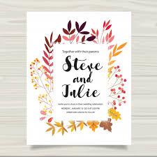 and in wedding card multicolor wedding card vector free