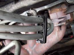 how to take apart spark plug wire separators or loom taurus car