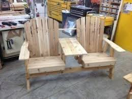 Jack And Jill Chair Plans by Adirondack Benches Foter